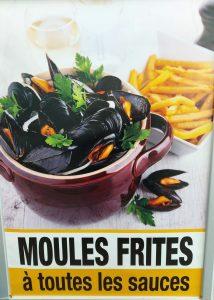 Vente à emporter ou à livrer moules frites Marseille dans le 8ème arrondissement